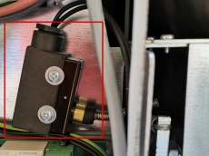 Microtaster HZS 517, inkl. Stecksicherung Omron