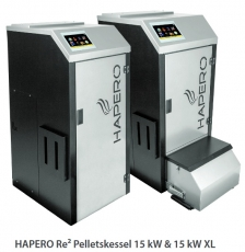Hapero Re2 Pelletsheizkessel HP02 2020.01 15kW