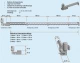 Hapero Lagerraumschnecke Grundmodul 1m mit Getriebemotor